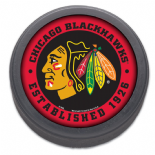 Chicago Blackhawks, Established 1926 NHL Puck